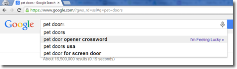 Adwords Pet Doors