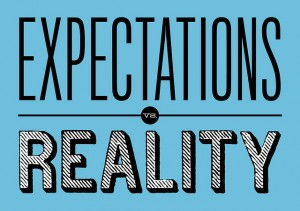expectations vs reality - credit:https://www.flickr.com/photos/bjornmeansbear | CC BY-SA 2.0