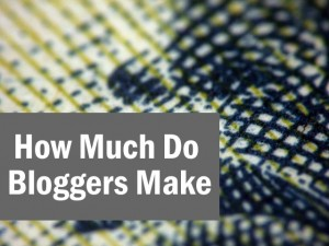How Much Do Bloggers Make - creditwww.flickr.com/photos/pagedooley